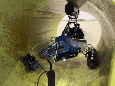 Eddyfi Technologies Robotic Solution for UT RVI and Laser Scanning Pipeline Inspection