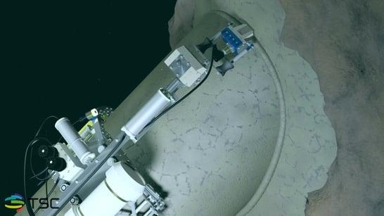 Node scanner in action