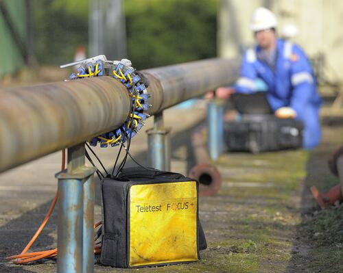 Teletest Focus Pipeline Inspection Guided Wave Testing GWT