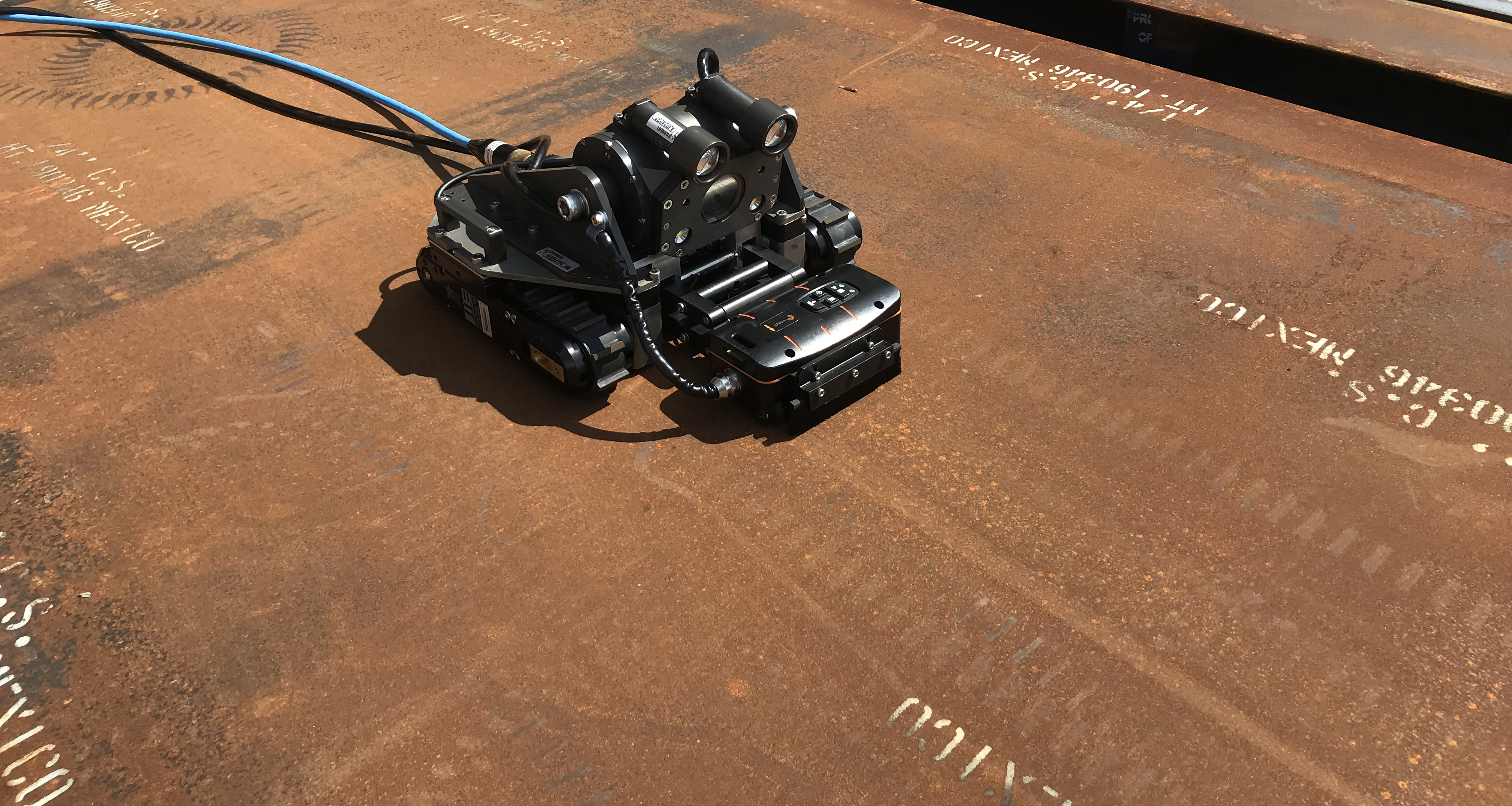Out of Sight and In Clear View with Remotely Operated NDT Robotics | Eddyfi