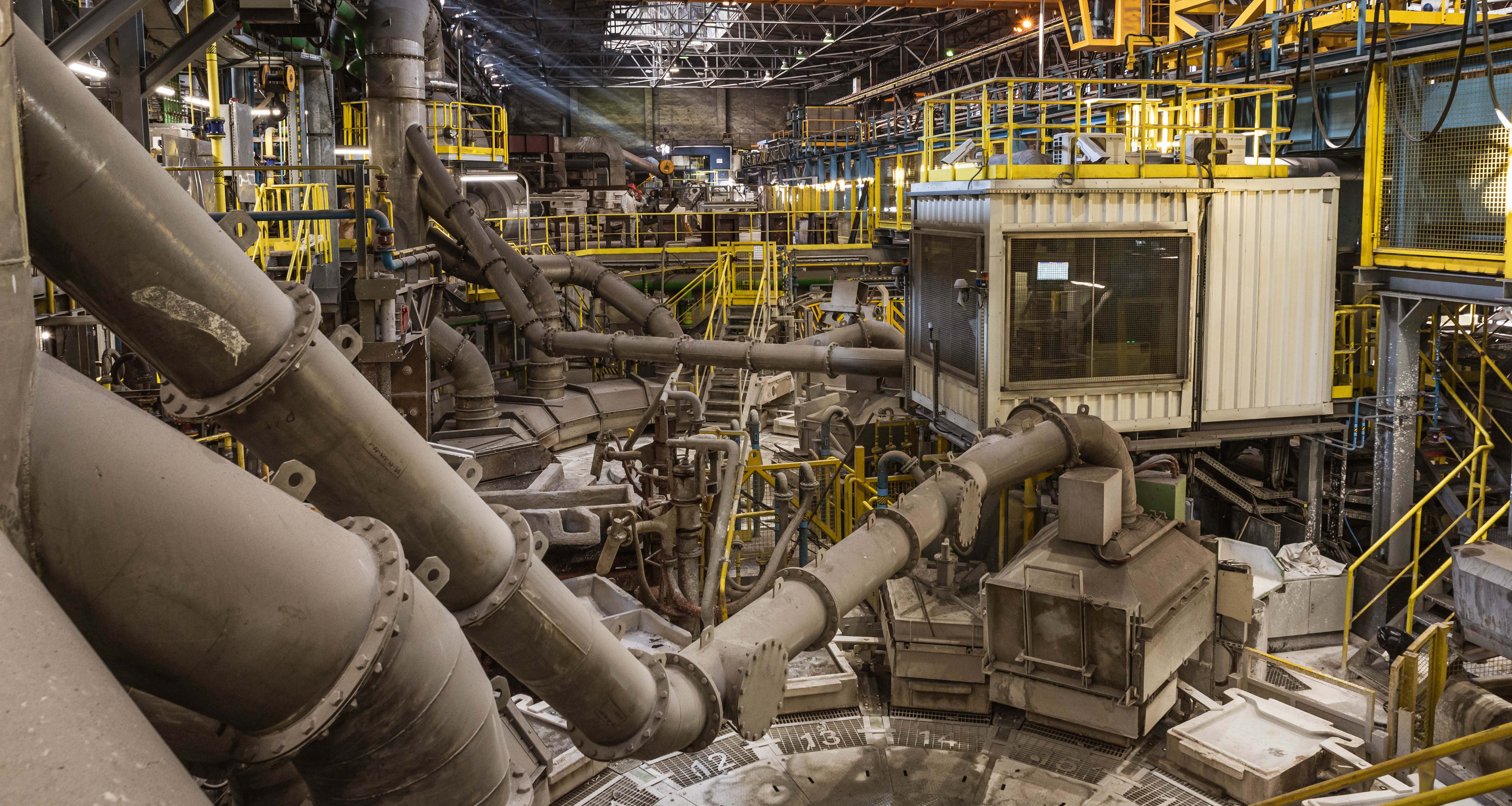 Fueling Industry 4.0 with Reliable Data for Aluminum Smelter Inspection