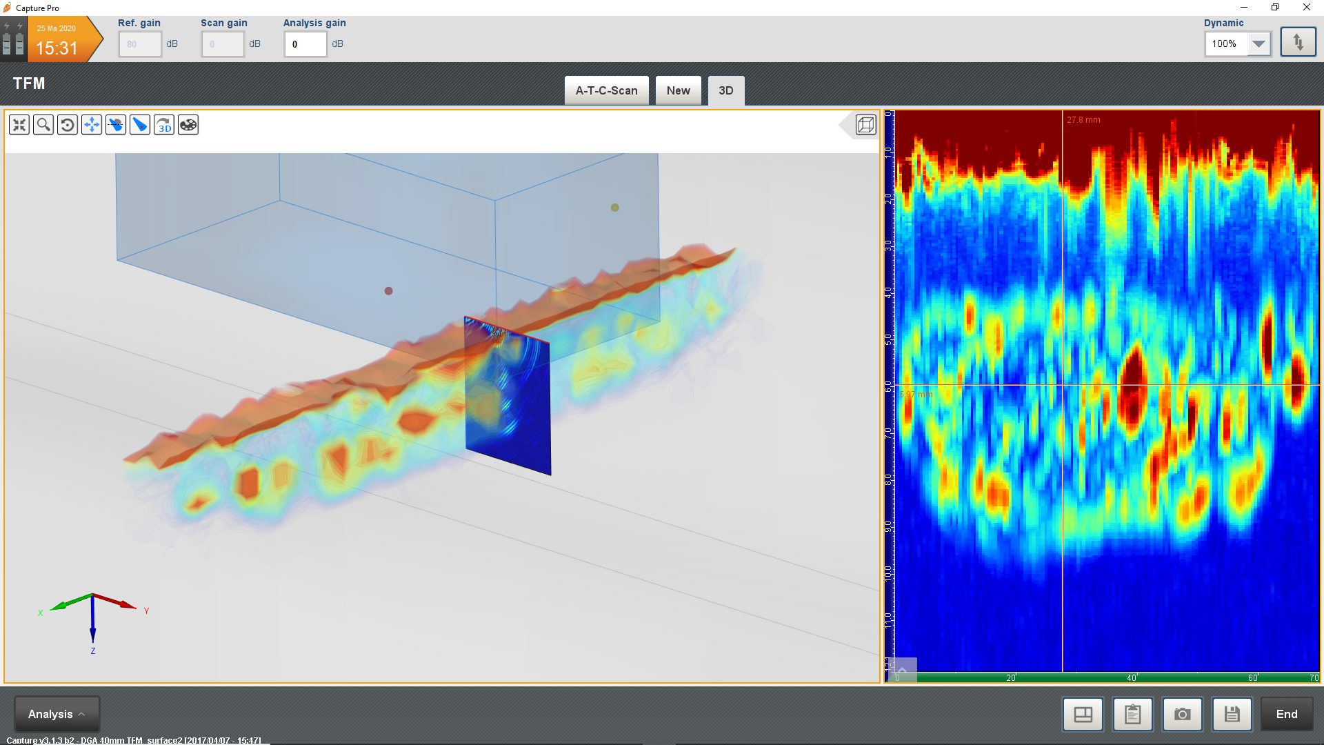 Surface Crack Characterization with TFM   Eddyfi